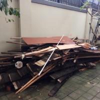Bongkaran Listplank Atap Gedung Kantor di Kota Denpasar (BPKH WIL. VIII Denpasar)