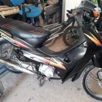 Angkasa Pura Kupang - Motor Honda NF100 Nopol DH 4740 CA di Kota Kupang