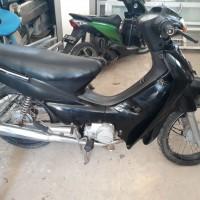 Angkasa Pura Kupang - Motor Honda NF100 Nopol DH 4741 CA di Kota Kupang