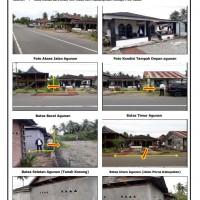 1 bidang tanah dengan total luas 155 m2 berikut bangunan di Kabupaten Mamuju
