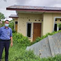 PT BNI Kanwil 16: tanah luas 190 m2 berikut bangunan rumah diatasnya sesuai SHM 755/KI di Karang Indah, Merauke