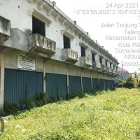 BRI Sriwijaya 1 - 1 bidang tanah SHM No. 1467 dan SHM No.1684 dengan total luas 144 m2 berikut bangunan di Kota Palembang