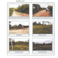 4 bidang tanah dengan total luas 30897 m2 di Kota Balikpapan