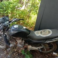 PLAN - Motorcycle Honda Mega Pro GL 160D E, EB 4925 EB, Hitam, 2008 (STNK tidak ada) di Kabupaten Nagekeo