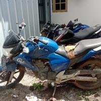 PLAN - Motor Honda New Mega Pro Standar 150cc, EB 3442 LB, Biru, 2011 (STNK tidak ada) di Kabupaten Nagekeo