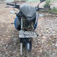 PLAN - Motor Honda New Mega Pro Standar 150cc, EB5451BJ, Biru, 2011 di Kabupaten Nagekeo