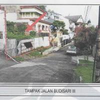 BNI : 5 bidang tanah dengan total luas 1611 m2 berikut bangunan di Jl.Budisari III No.11, Hegarmanah, Kota Bandung