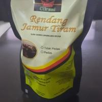 (Rendang Cik Ani) Lot 1. Satu bungkus rendang Jamur Tiram dengan berat kemasan 250 gram rasa tidak pedas ketahanan produk 60 hari (rendang b