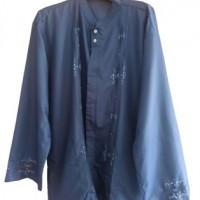 (PLUT-KUMKM Prov. SUMBAR) Lot 6. Satu buah Baju Koko Bordir Lengan Panjang dengan bahan Matt katun bangkok bordir premium, good quality full