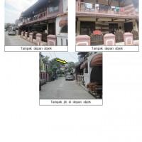 1 bidang tanah dengan total luas 140 m<sup>2</sup> berikut bangunan di Kota Bekasi