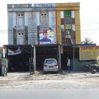 1 bidang tanah dengan total luas 153 m<sup>2</sup> berikut bangunan di Kota Banjarmasin