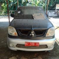 3. PEMDA.M.ENIM-Satu unit kendaraan roda empat, Mitsubishi Kuda Grandia, Hitam Mica, Thn 2005, Rusak, Mesin Mati