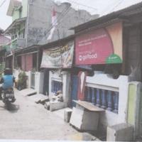 1 bidang tanah dengan total luas 90 m<sup>2</sup> berikut bangunan di Kota Bekasi