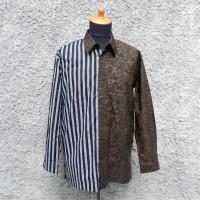 UMKM: 1 unit Kemeja Batik Lurik Series 02 kondisi apa adanya di Kota Semarang
