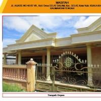 Bank Mega Banjarmasin: 1 bidang tanah dengan total luas 400 m2 berikut bangunan di Kabupaten Kapuas