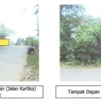 4. Sebidang tanah seluas 586 m2 berikut segala sesuatu diatasnya di Kota Palembang