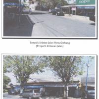 (PA PAMEKASAN) : Sebidang tanah seluas 317 m2 sesuai SHM 519 berikut bangunan yang berdiri diatasnya di Kabupaten Pamekasan