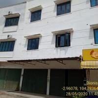 2 bidang tanah dengan total luas 236 m<sup>2</sup> berikut bangunan di Kota Palembang