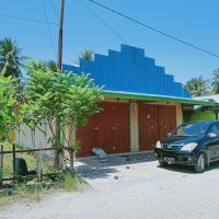 1 bidang tanah dengan total luas 2500 m2 berikut bangunan di Kabupaten Banggai