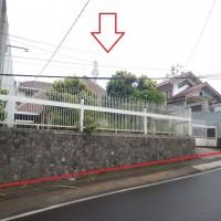 BANK FAMA : 2 bidang tanah dengan total luas 640 m2 berikut bangunan di Jl.Cigadung Raya Timur No.87, Kota Bandung