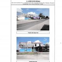 2 bidang tanah dengan total luas 6263 m<sup>2</sup> berikut bangunan di Kabupaten Kotawaringin Timur