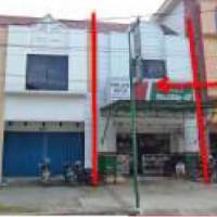 Tanah / bangunan seluas 62 m2 terletak di Jl. Bengkuring Raya, Ruko Bengkuring Blok A1 No. 03, Samarinda