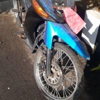 Kejari Wates lelang rampasanYamaha Vega ZR, warna  merah biru hitam; plat nomor, kunci, BPKB dan STNK tidak ada