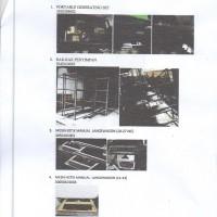 Rupbasan.Pontianak: 1 (satu) paket barang inventaris rusak berat