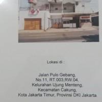 BRI Pancoran - SHM No. 01458 terletak di Jl. Pulogebang No. 11 Ujung Menteng Jakarta Timur