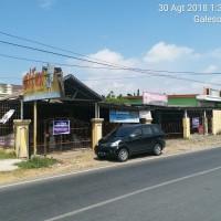 Sebidang tanah SHM No. 00490 seluas 839 m² berikut bangunan ruko, Kel. Bontolebang, Kec. Galesong Utara, Kab. Takalar (BRI Takalar)