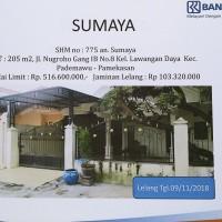 BRI Pamekasan: Tanah seluas 205 m2 berikut bangunan, terletak di Kel. Lawangan Daya, Kec. Pademawu, Kab. Pamekasan