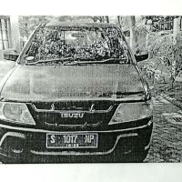 BPS Kab. Mojokerto, Mobil Isuzu Panther Nopol S-1017-NP, tahun 2005, warna Biru Tua Metalik