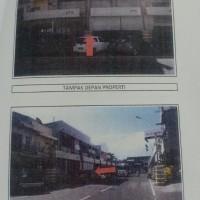 (BCA) 2 bidang tanah, + bangunan, SHM No.567, LT 94 m2, dan SHM No.352, LT 160 m2,  di Jl. Sultan Hasanuddin, Kota Parepare