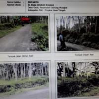 Bank Pasar Rembang (2) : Tanah seluas 4.015M2, SHM no. 00322  di Desa Gunungsari  Kec. Tlogowungu Kab. Pati