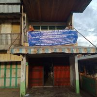 Sebidang tanah seluas 86m2 SHM No.425 berikut ruko di Desa Parit Baru,Selakau,Sambas,KalBar