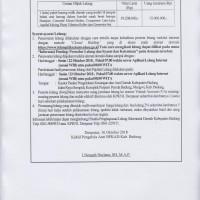 1 (satu) paket barang milik daerah yang terdiri 14 (empat belas) unit barang dalam kondisi rusak berat (Setda Badung)