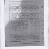 Satu paket tanah dan bangunan, SHM No. 5856 Lt 96m2, dan SHM No. 5857 Lt 3.300m2, di Denpasar-Bali (ICBC)