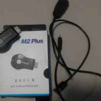 [SUKARELA] Dilelang 1 (satu) unit Anycast M2 Plus - WiFi Display Receiver Dongle (HDMI)- warna Hitam, lengkap, bekas pakai, kondisi baik