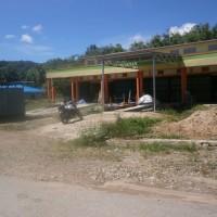 Sebidang tanah seluas 152m2 SHM No.1248 berikut ruko di Desa Bani Amas,Bengkayang,KalBar