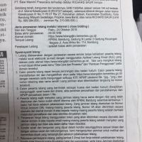 Permata: TB SHM 1300 luas 144 m2 Jl. Istana Kawaluyaan III No.11 RT.07 RW.27, Kel. Jatisari, Kec. Buahbatu, Kota Bandung