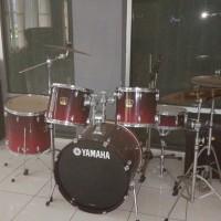 1 unit drum set merk Yamaha