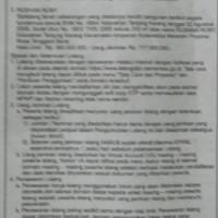 2. BRI Mataram: Sebidang tanah luas 200m2 sesuai SHM No. 4984/Kel. Tanjung Karang