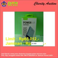 Charity Auction KPKNL Metro (11): Powerbank 10000 mAh