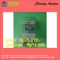 Charity Auction KPKNL Metro (06): Earphone Miniso