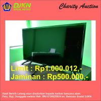 Charity Auction KPKNL Metro (01): TV LED Sharp 32 inch