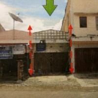 1 bidang tanah luas 99 m2 berikut bangunan ruko diatasnya, SHM No. 01339, di Kel. Dobonsolo, Kec. Sentani, Kab. Jayapura