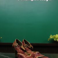Lelang Sukarela: 24 Satu pasang sepatu high heel 6 cm merk GG Nine size 37