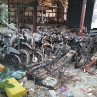 Polda Lampung: Satu paket Scrap/limbah pada Ex. Kendaraan roda dua, tiga dan empat sejumlah 53 unit pada Polres Lampung Tengah Polda Lampung