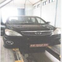 Setda Sanggau 19: 1 (Satu) unit kendaraan roda 4 (Empat) Merk Toyota Avanza, Nopol KB 1652 DA