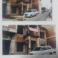 Bank Utomo (2): Dijual 1 paket yaitu 2bidang tanah berikut bangunan dengan luas total 650 M2 di jalan angrek, Rajabasa Bandar Lampung